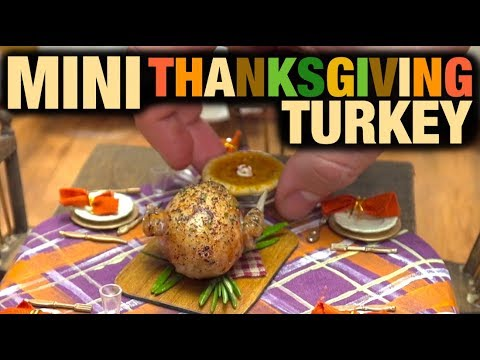The World s Smallest Thanksgiving Turkey