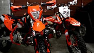 1. Weight- 2019 KTM 250 EXC TPI vs 2017 250 EXC