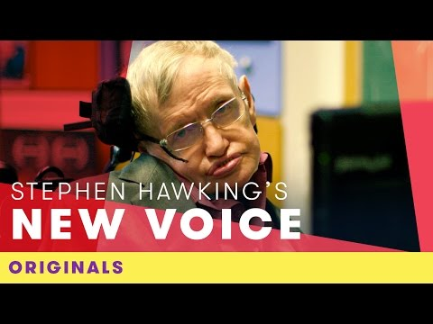 Stephen Hawking's New Voice