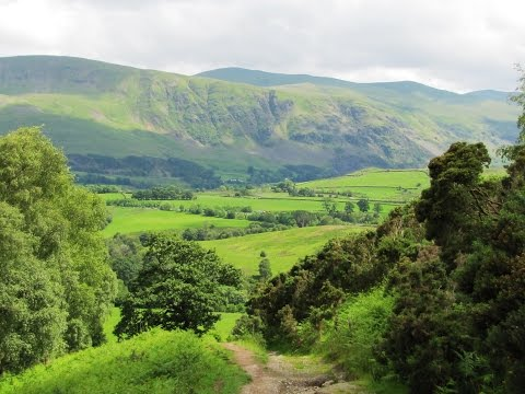 Keswick – Latrigg – Old Railway Line round | cumbria  Walks