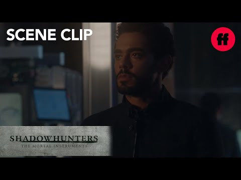 Shadowhunters | Season 2, Episode 9: Alec Takes the Institute Back from Aldertree | Freeform
