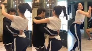Shraddha Kapoor Naughty Dance in Funny Way with Her Team During Lockdown | Home Quarantine Video
