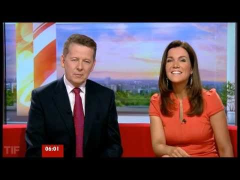 bbc breakfast - The first programme of the new look programme from Salford. With Bill Turnbull and Susannah Reid.