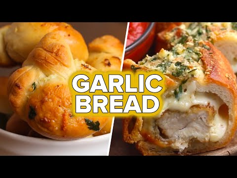 5 Recipes For Garlic Bread Lovers