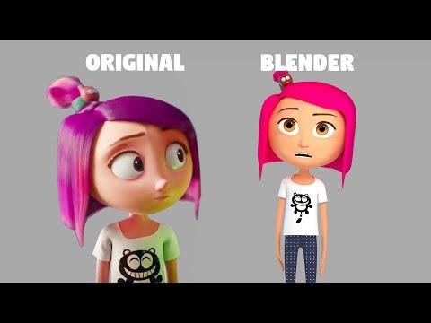Gnome Alone Becky G (Blender Timelpase) - Modelling - Texturing - Rigging