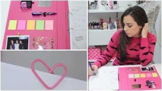 Organiza y decora tu carpeta - DIY - YouTube