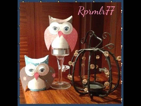 Craft Series – DIY Cute Owl Made Out of Empty Toiler Paper Roll