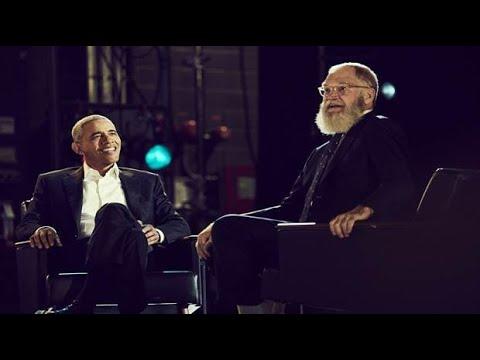 David Letterman y Barack Obama: una charla entre dos jubilados estrella