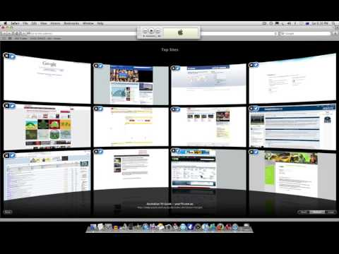 comment modifier top sites sur mac