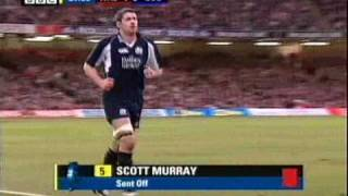 Incident - Murray red card - 6 Nations