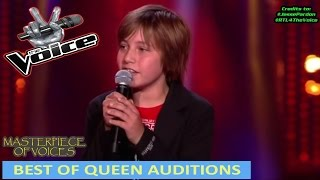 Video BEST OF QUEEN SONG AUDITIONS IN THE VOICE MP3, 3GP, MP4, WEBM, AVI, FLV Juli 2018