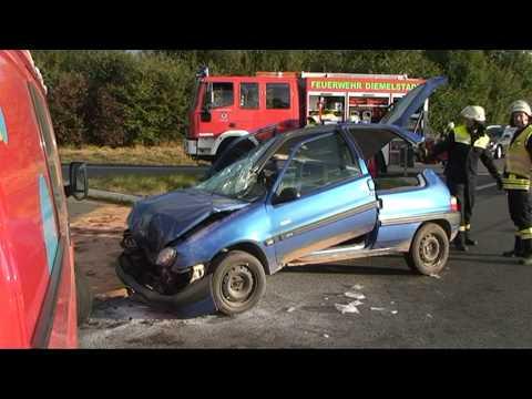 Rhoden: Frau bei Unfall schwer verletzt