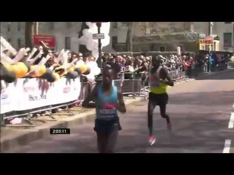 Tsegaye Kebede - Ethiopia's Marathoner Tsegaye Kebede has won the the 2013 London Marathon - Video courtesy of Universal Sports.