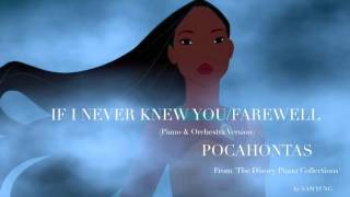 Video If I Never Knew You/Farewell (Piano & Orchestra Version) - Pocahontas - by Sam Yung MP3, 3GP, MP4, WEBM, AVI, FLV September 2017