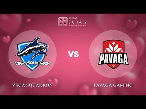 Vega Squadron vs Pavaga Gaming - ENG @Map1 | Dota 2 Valentine Madness | WePlay!