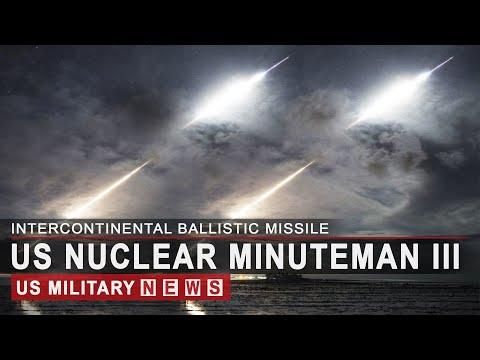 Amid High Tensions, US Test Launch Nuclear ICBM Minuteman III