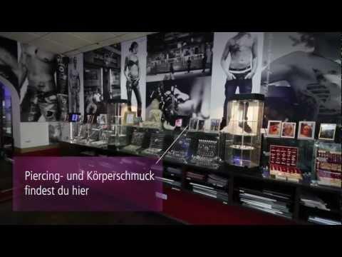 Ladenrundgang Goetheplatz / Unlimited Bodyart, Piercing- & Tattoo-Studio München