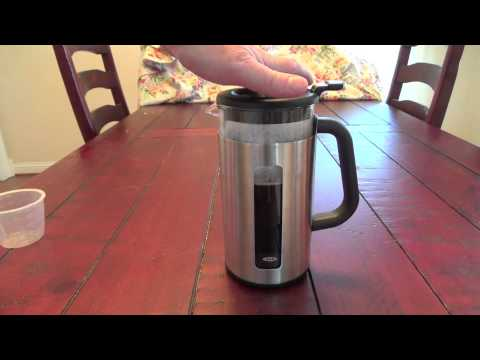 Review: OXO Good Grips French Press Coffee Maker