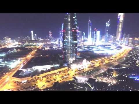 تصوير جوي لمجموعة معالم في الكويت