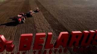 Produksjon av Belarus traktorer ved Minsk Tractor Works.