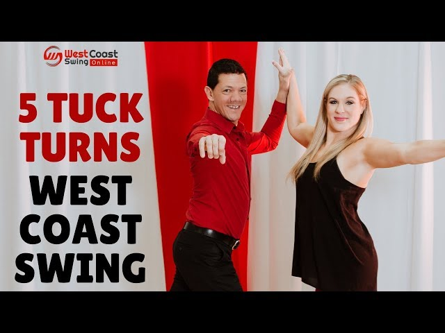 West Coast Swing // 5 Basic Tuck Turns