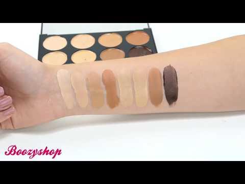 Makeup Revolution Makeup Revolution Ultra Cover and Concealer Palette Medium Dark