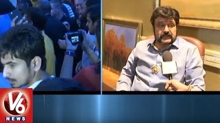 Balakrishna Face To Face On Gautamiputra Satakarni Movie | Meet Fans In Dallas