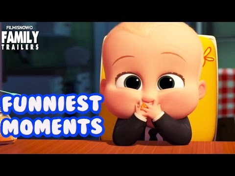 Video The Boss Baby | Funniest moments from the family animated movie download in MP3, 3GP, MP4, WEBM, AVI, FLV January 2017