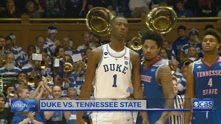 Kennard and Duke top Tennessee St. 65-55 in Giles' debut