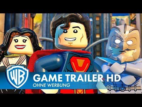 LEGO DC Super-Villains - Charaktererstellung Trailer Deutsch HD German (2018)