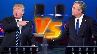 Video Donald Trump vs. Jeb Bush | Presidential Debate Highlights MP3, 3GP, MP4, WEBM, AVI, FLV Juli 2018