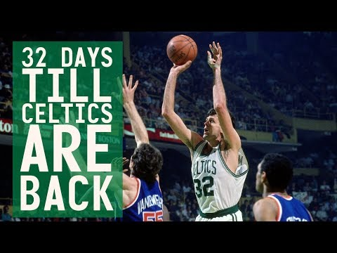 32 days till Celtics are back: #32 Kevin McHale's second career 3-pointer to force 2OT!