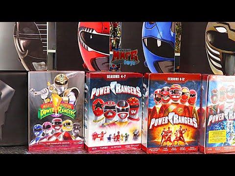 Power Rangers Leaving Netflix! A Look at All Power Ranger DVD Sets