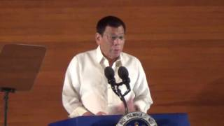 Duterte: I assure you this will be a clean gov't