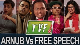 Video Arnub Vs. Free Speech : News-hour Qtiyapa MP3, 3GP, MP4, WEBM, AVI, FLV Februari 2018