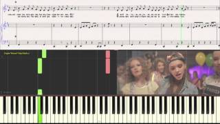 Open Kids - Не танцуй! (Ноты для фортепиано) (piano tutorial)