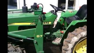 7. John Deere 750 hydraulic oil