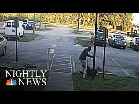 Shocking Body Cam Footage Shows Confrontation In Deadly Police Shooting | NBC Nightly News