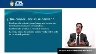UTPL LA TEORÍA PURA DEL DERECHO DE HANS KELSEN [(CIENCIAS JURÍDICAS)(FILOSOFÍA DEL DERECHO)]