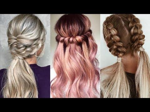 PEINADOS FÁCILES Y RÁPIDOS 2018 2019  Easy Hairstyles Tutorial Compilation