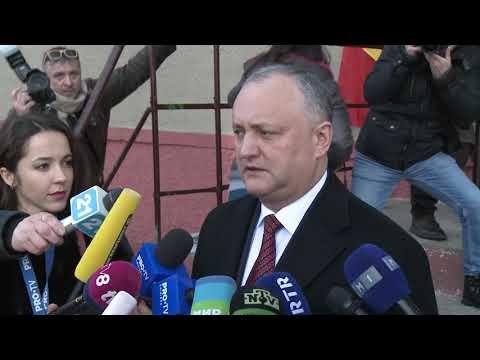 Președintele Igor Dodon a votat pentru un viitor mai bun al țării noastre