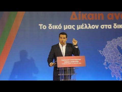 Αλ. Τσίπρας στη Λέσβο: Δίνουμε καθημερινά τη μάχη