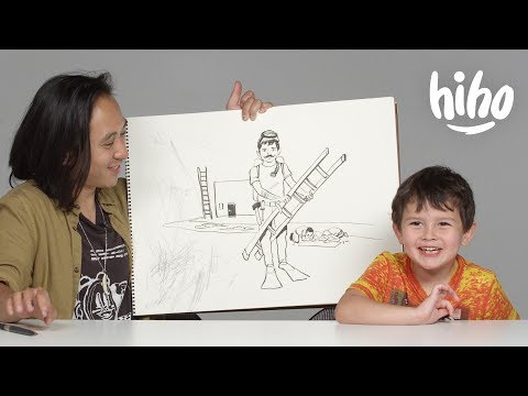 Kids Describe Their Dream Job to an Illustrator