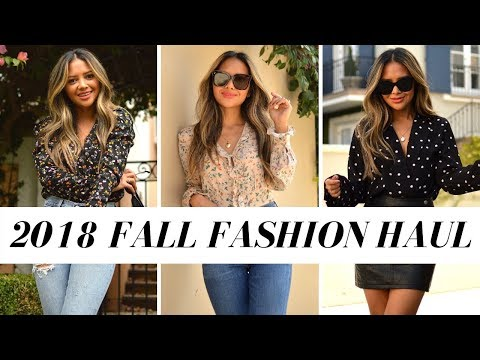 2018 Fall Fashion Try-On Haul   Zara, Mango, Revolve, Pretty Little Thing and More!!
