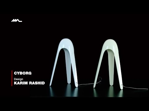 Emiliana Martinelli presenta Cyborg,  design  Karim Rashid