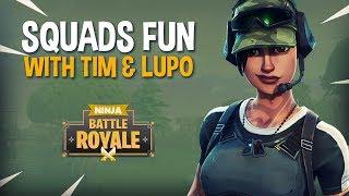 Video Squads Fun With Tim and Lupo - Fortnite Battle Royale Gameplay - Ninja MP3, 3GP, MP4, WEBM, AVI, FLV Juni 2018