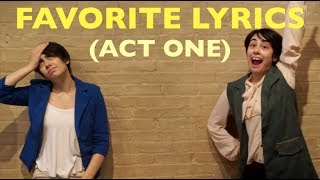 So many people have been requesting more Hamilton, so that is how this video was born. Please enjoy me being silly! These are my (very random) favorite lyrics from the first act of Hamilton.Please be sure to subscribe, thumbs up, and comment!❤︎ I am a 21 year old professional geek that loves Musicals, Disney, and Pop Culture ❤︎VIDEO UPLOAD SCHEDULE I upload a new video every Wednesday & Friday at 4:30pm eastern timeSOCIAL MEDIATwitter @JonaAlmostFameInstagram jonasalmostfamousTumblr http://jonasalmostfamous.tumblr.comSnapchat jonaalmostfameIntro Animation by https://www.fiverr.com/amit98038For Sponsorships or Endorsements: jonabo@verizon.netFor Business Inquires and Collaborations: jonabo@verizon.netSupport me on PATREON https://patreon.com/jonasalmostfamousSend me things! (I reply!)JonaPO BOX 1035234 Thoms Run RdPresto, PA 15142-1169Stay beautiful you people! ❤︎