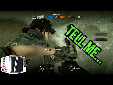 Triple Interrogation - Rainbow Six Siege (видео)