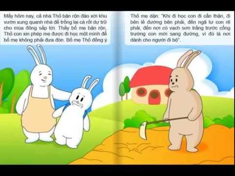 Mèo Talking tom kể truyện Cổ tích - Thỏ xử án
