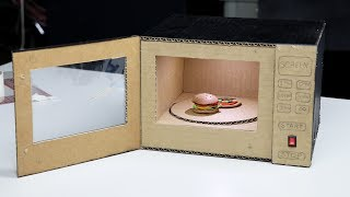 Here is how to make a toy microwave oven for your kids. It's so fun and really enjoy. Thank you for watching!! Please subscribe to get more interesting videos: ...